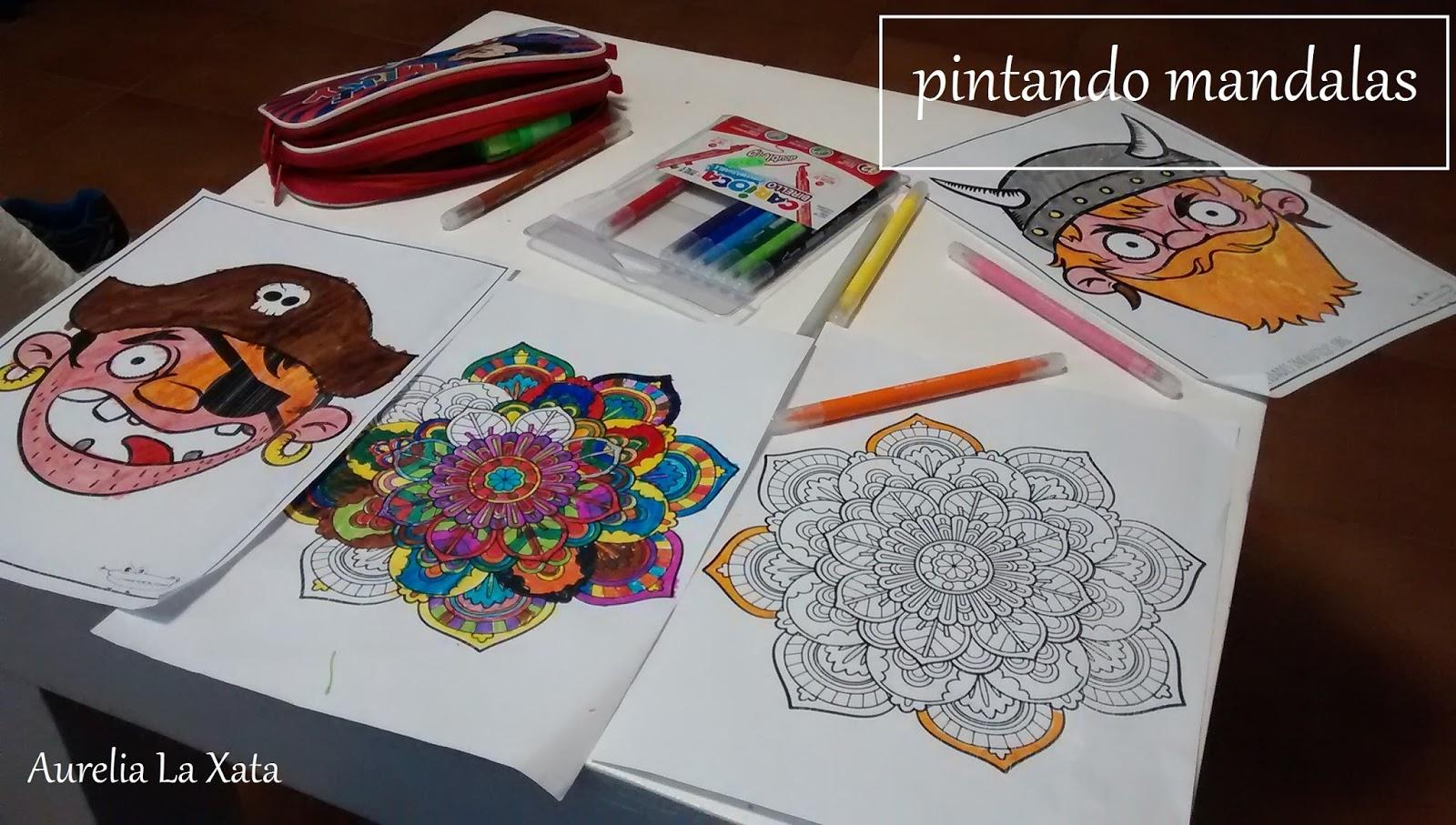 Aurelia Aprende A ser Mamá: Mandalas para colorear niños 6-8 años