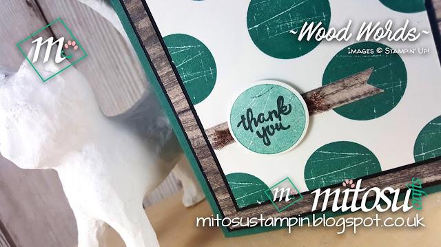 New 2017 2018 Stampin Up Wood Words Mitosu Crafts Order Stampinup UK Online Shop 1