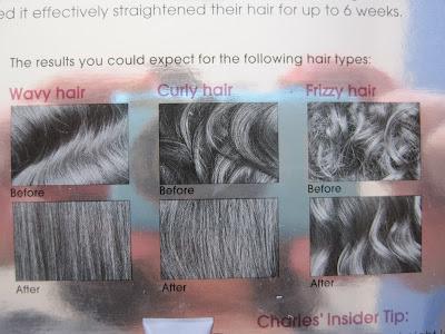 Charles Worthington Straight & Smooth Hair Straightening Kit