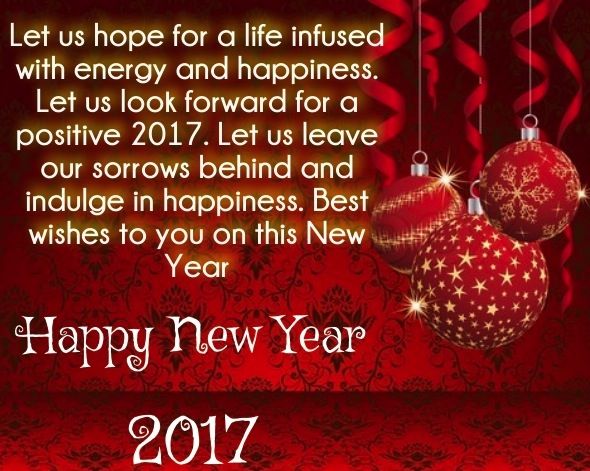Quotes New Year Wishes 2017 : New year wishes