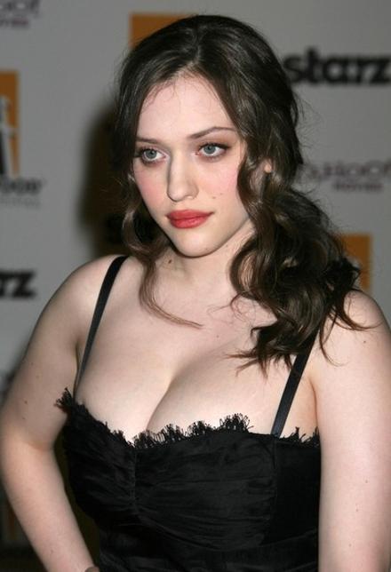 Hot kat dennings cleavage
