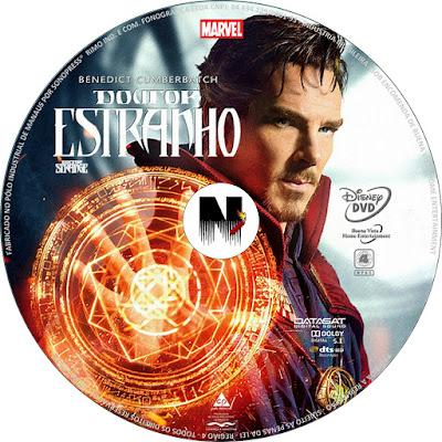 Label DVD Doutor Estranho