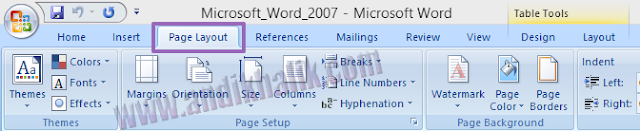 Cara Mengaktifkan Menu- Menu Pada Microsoft Word 2007