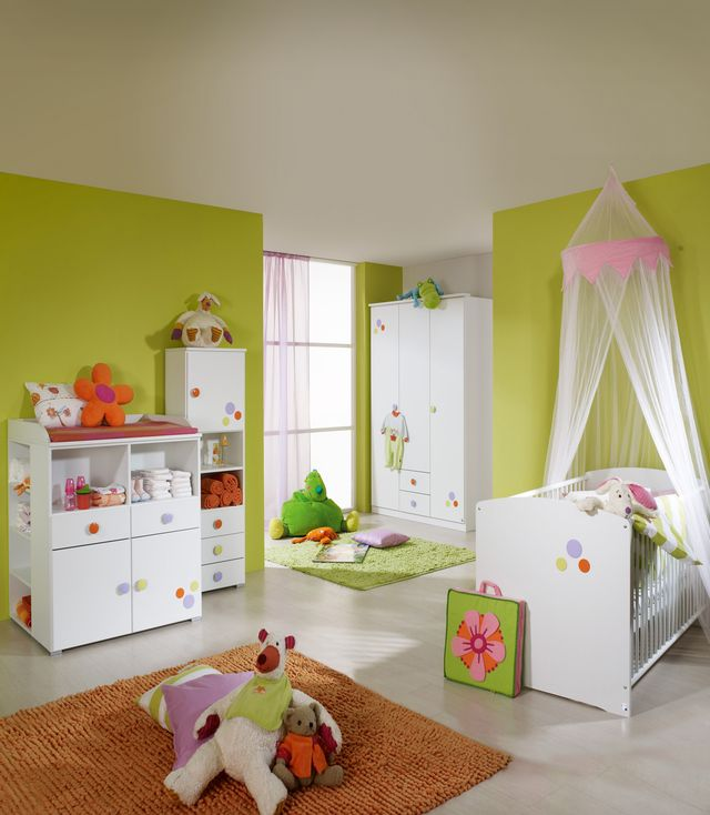 des chambres coucher de b b gar on fille b b et. Black Bedroom Furniture Sets. Home Design Ideas