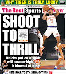 Knicks on a roll