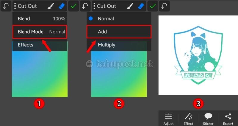 Cara Membuat Logo di Picsay Pro