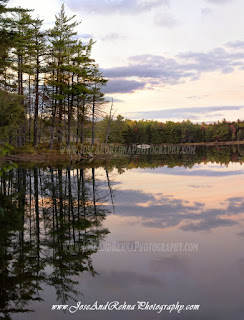 Baithole Millinocket Hiking Wildlife Trail Maine Ponds and Lakes Reflections