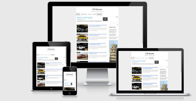 CTR booster Blogger Template Responsive