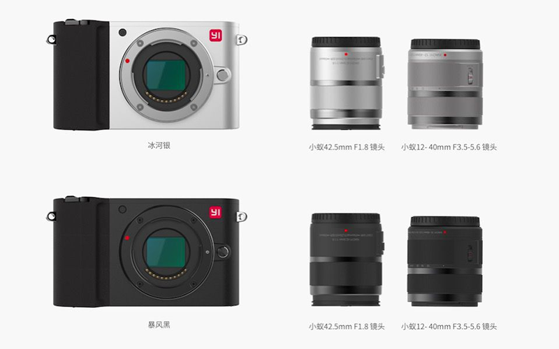 The available lens kits