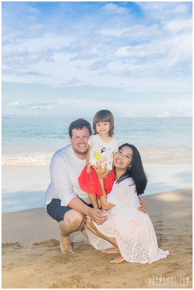Maui Beach Family Portraits
