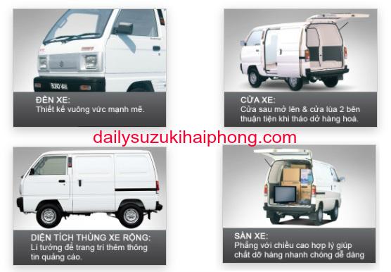 ngoai that suzuki blind van