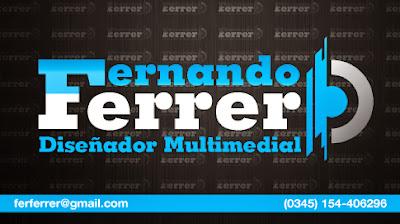 Fernando Ferrer Diseñador Multimedial