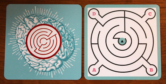 Cortex Challenge maze test cards