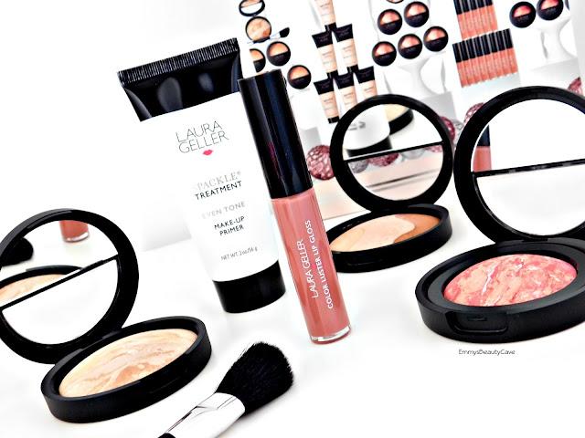 Laura Geller Baked Makeup, Laura Geller Balance and Brighten Foundation, Laura Geller Spackle Primer