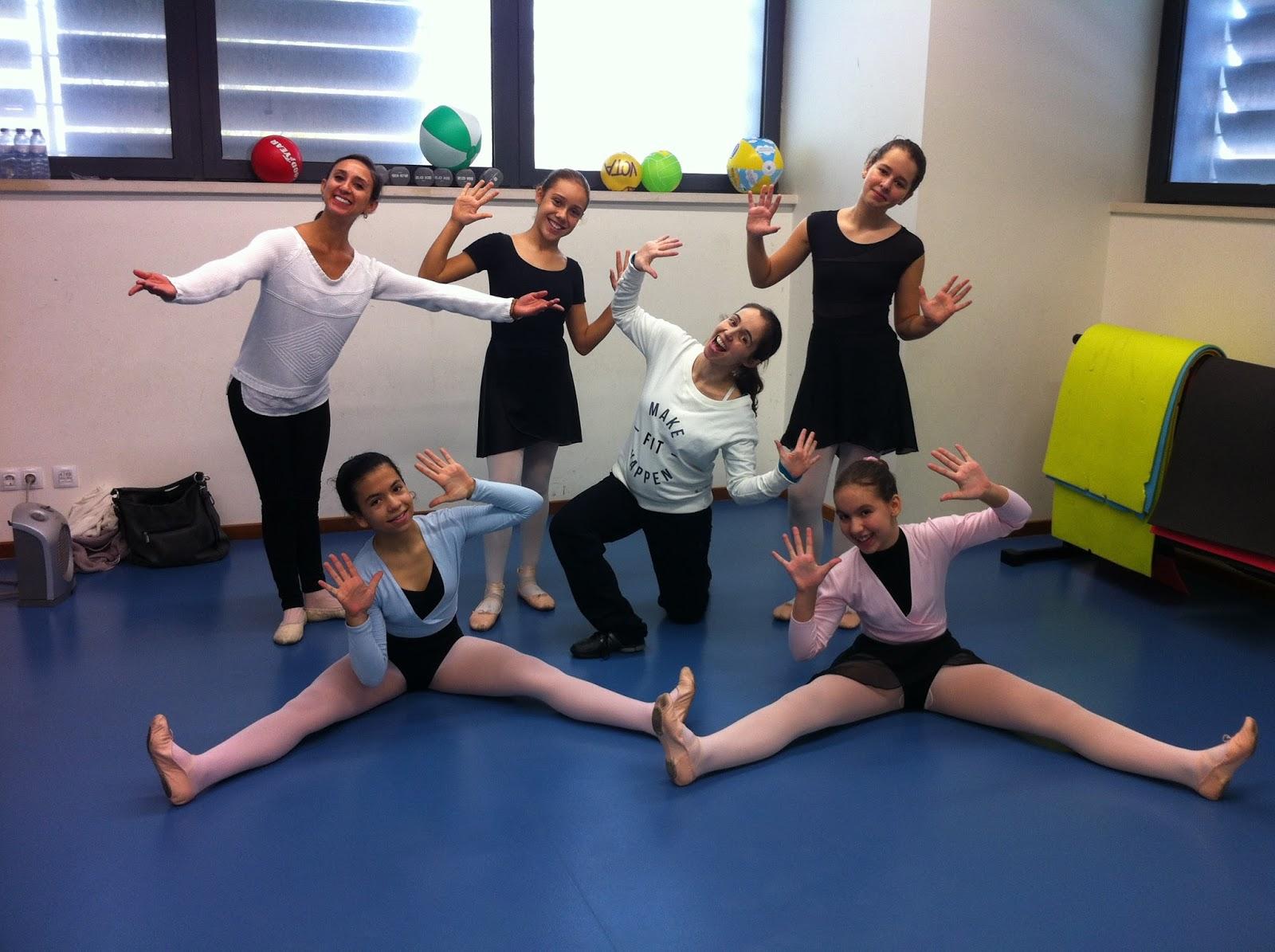 Masterclass PA AAB - Alunas nível 4 - Ballet no Clube de Futebol de Sassoeiros
