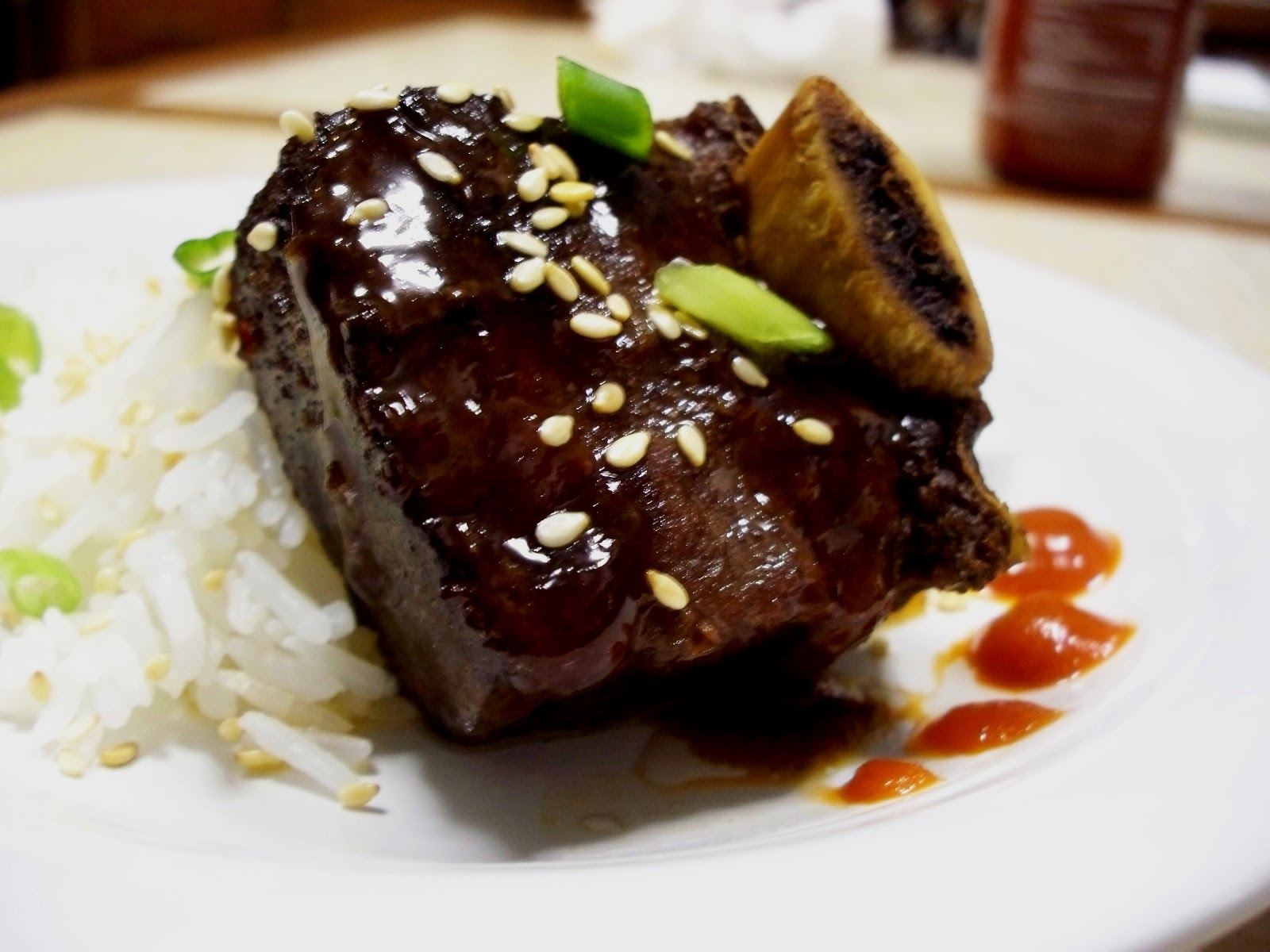 The Taming of the Roux: Korean Style Short Ribs