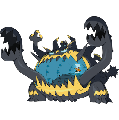Guzzlord Hau vore Malasada eating stomach mouth Pokémon Sun Moon