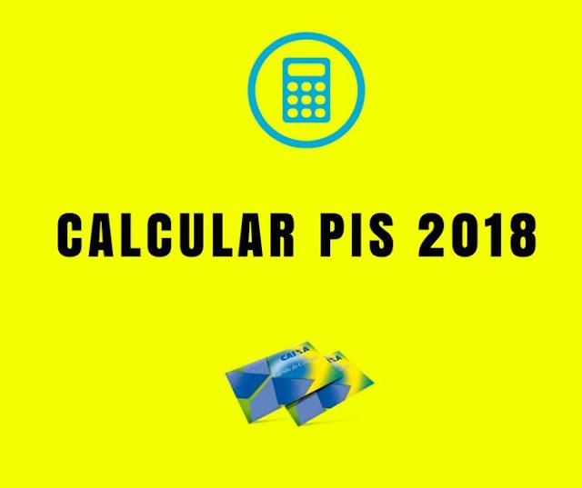 Como calcular o PIS 2018