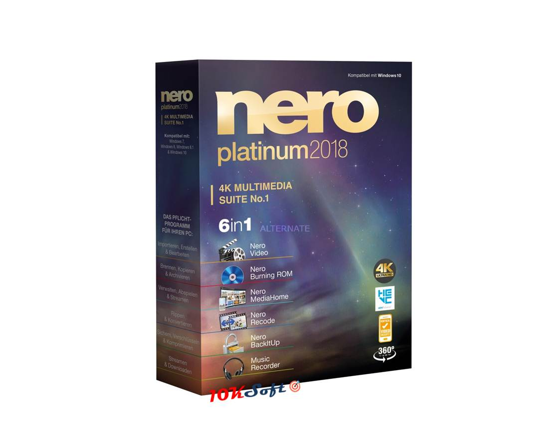 Nero Platinum 2018 Suite Free Download