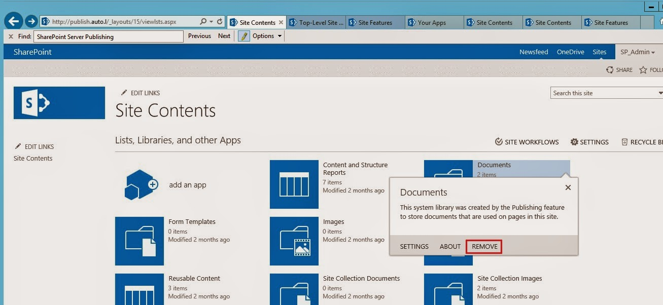 SharePoint Trenches: Delete SharePoint List/Library when Remove ...