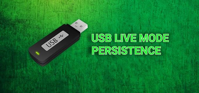 Live Mode Persistence - Hệ thống Kali Linux di động