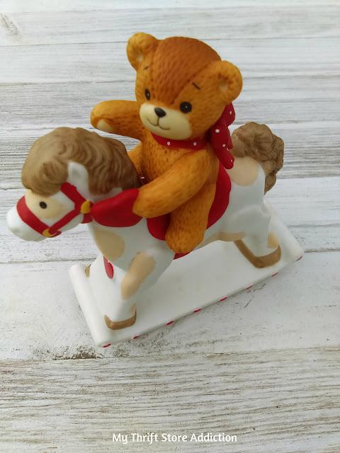 vintage collectible Enesco teddy bear