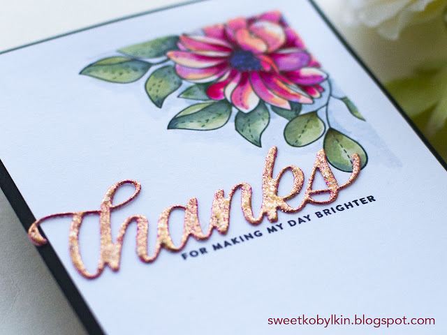 Enhance Die Cuts with Multiple Layer Heat Embossing