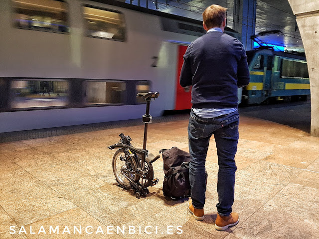 Salamanca, intermodalidad, tren+bici, bici+tren