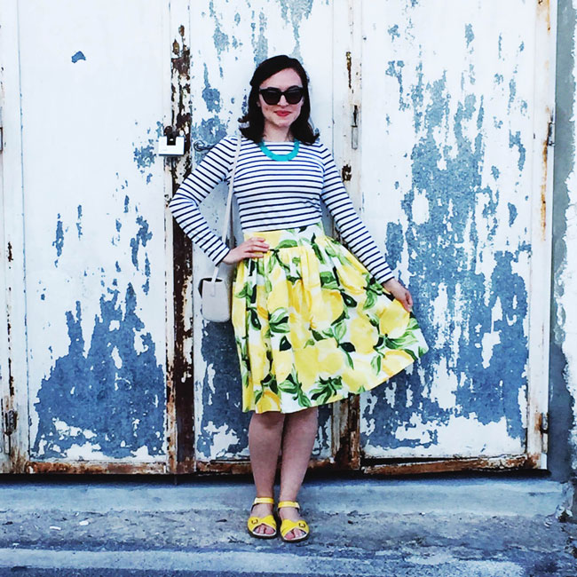 A Lemons Clemence Skirt - Tilly and the Buttons