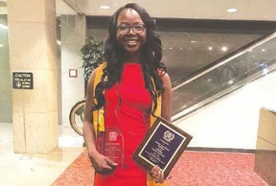 OMG: 18-Year-Old Nigerian Girl Emerges Best Graduating Student In Miles College, USA