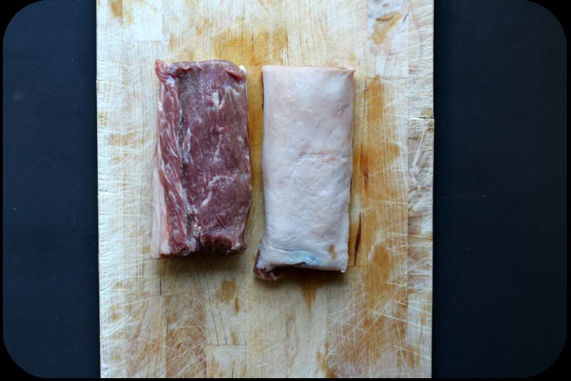 Lammlachse vom schottischen Weideschaft mit Fettdeckel, 10 Tage trocken am Knochen gereift   Arthurs Tochter Kocht von Astrid Paul