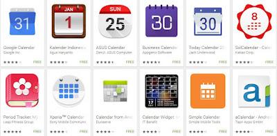 10 Aplikasi Kalender Terbaik Untuk Android
