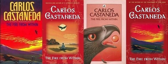 Carlos Castaneda Belülről izzó tűz külföldi kiadások