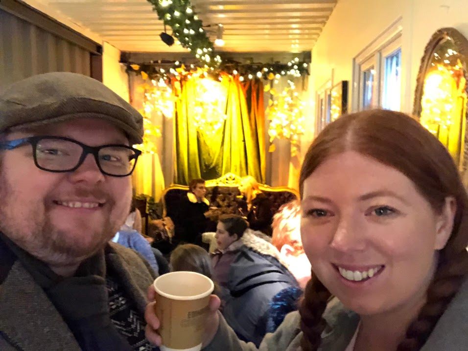 Top Tips for Driving to Edinburgh Christmas Markets with Kids - Bothy bar