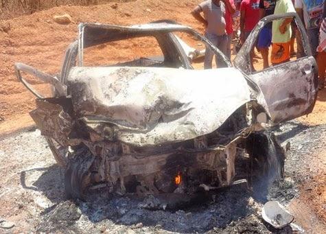 Palmas de Monte Alto: Acidente na BA-263 mata dois e deixa cinco feridos