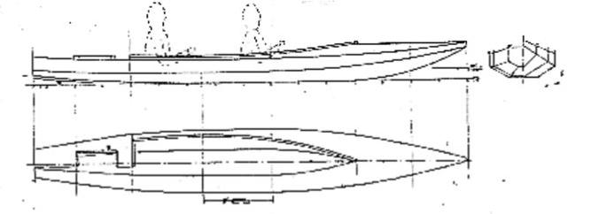 Oar Cruising: A 15.5' (4.7m) Plywood Oar Cruiser