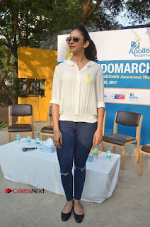 Actress Rakul Preet Singh at Endometriosis Awareness Walk at Apollo Cradle  0112.jpg