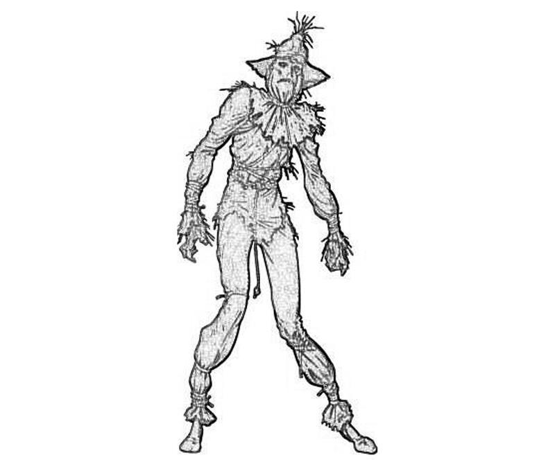 Batman Arkham City Scarecrow Armor   Yumiko Fujiwara