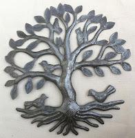 Дерево жизни с сидящими на нём птицами