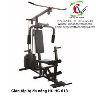 Giàn tập tạ đa năng HL-HG 613