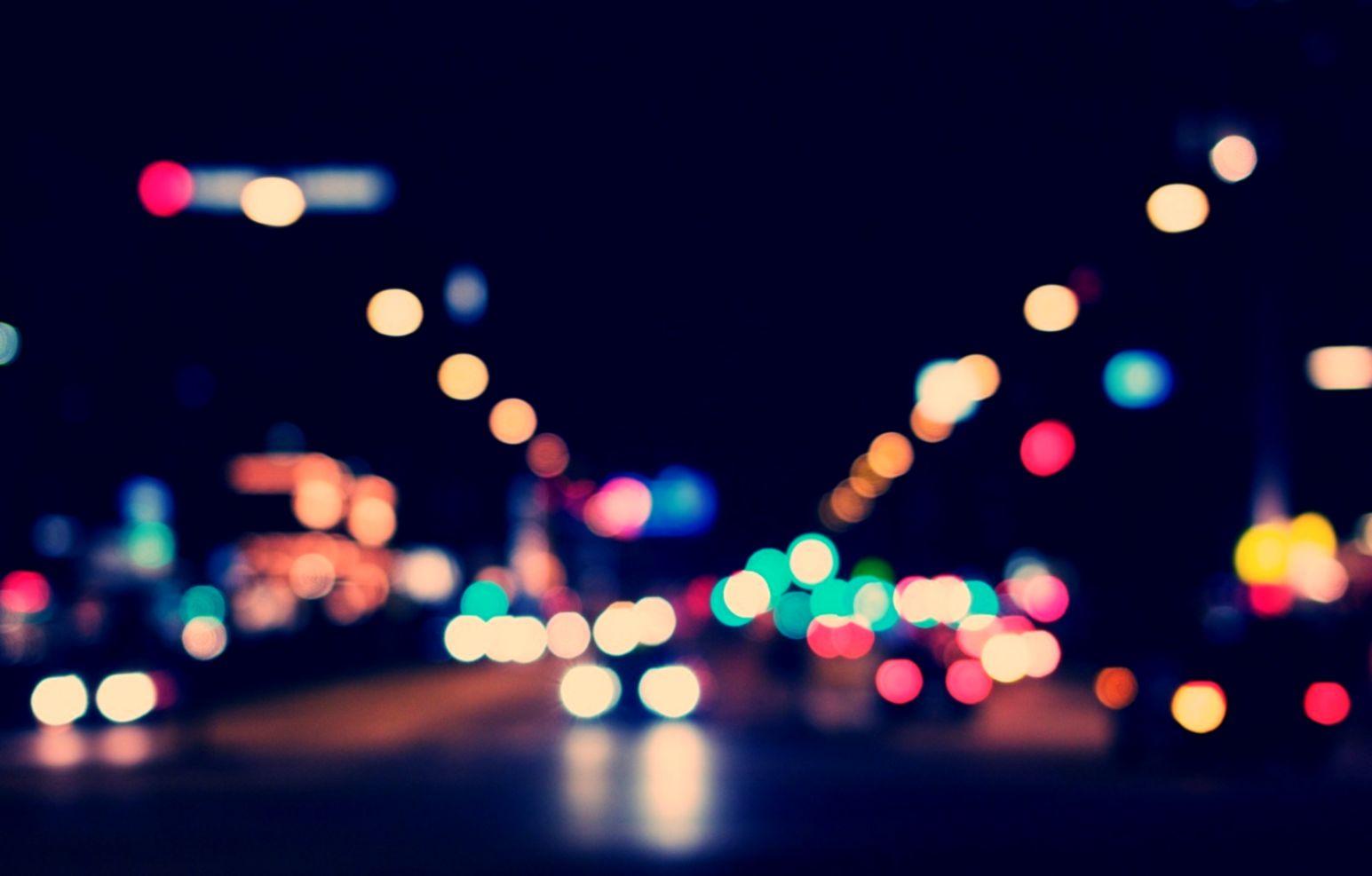 Street Night Light Photo Hd Wallpaper Smart Wallpapers