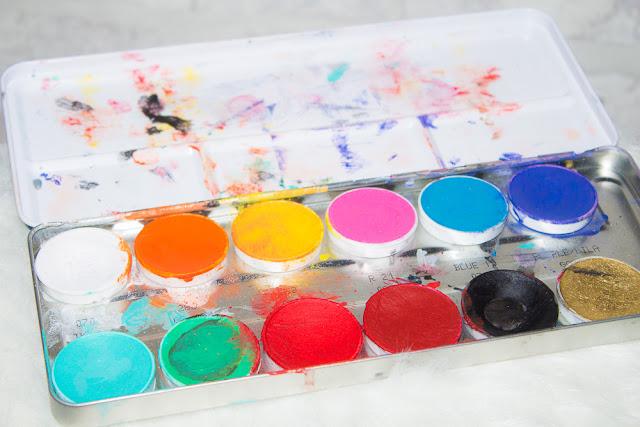 palette - aqua - kryolan