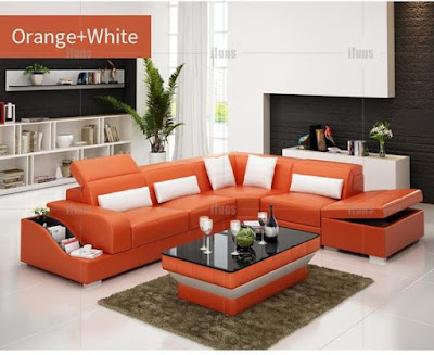 Modern corner sofa set design ideas for living room 2019
