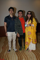 Govinda with wife Sunita Ahuja and Son Yashvardan Ahuja at Screening Of her new movie Aa a Hero 8.JPG
