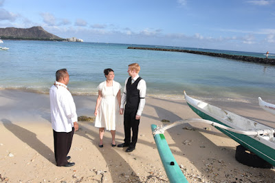 Wedding at Waikiki