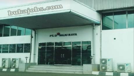 Lowongan kerja PT Dongju Raya Indonesia MM2100