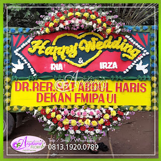 Toko Bunga Papan Wedding Jakarta Barat