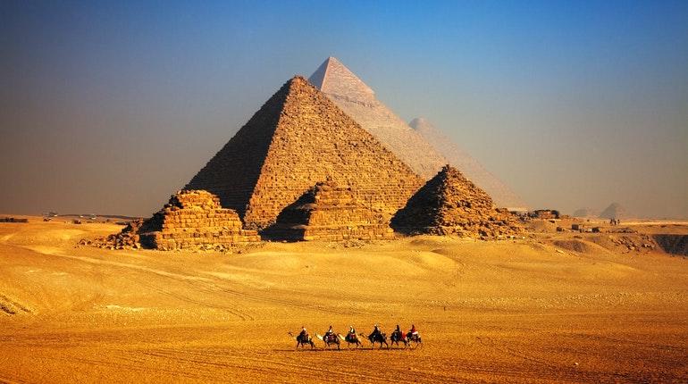 Giza, Piramida Terbesar dan Termegah di Mesir
