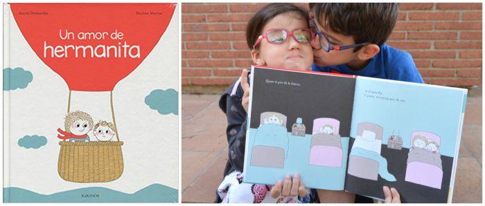 cuentos infantiles mejorar relación hermanos: celos, peleas Un amor de hermanita desbordes