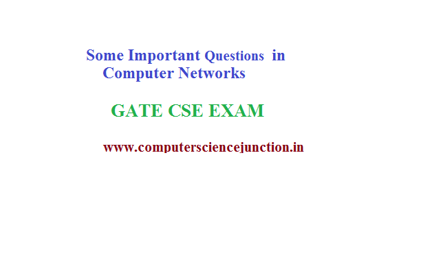 tricky questions in computer networks